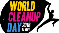 Logo World Clean Up 2018