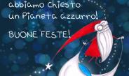 Auguri di buone feste da Il Pianeta Azzurro