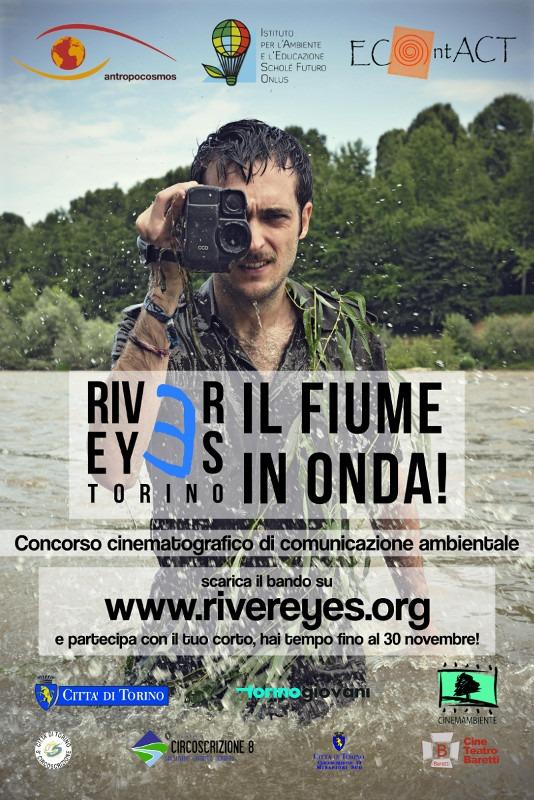 Al via la II edizione di River Eyes Torino – il fiume in onda!