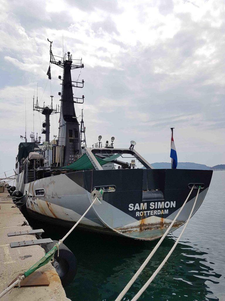 La nave Sam Simon