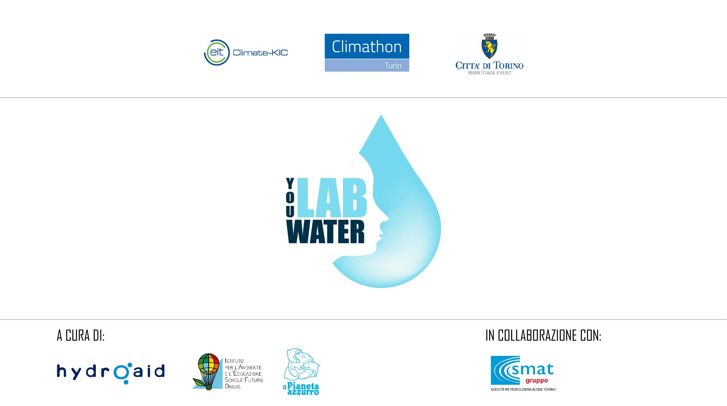 Il Pianeta azzurro sbarca al Climathon 2018 con YouLabWater